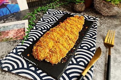 金黄酥脆烤龙利鱼