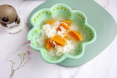 养胃润肠,红薯大米粥