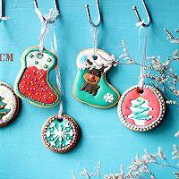 圣诞节装饰糖霜饼干的做法图解10
