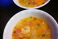 鲜虾干贝海鲜粥~儿童简餐系列的做法
