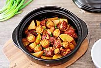 #我们约饭吧#鲍鱼排骨炖土豆的做法