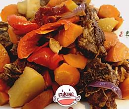 羊排炖萝卜的做法