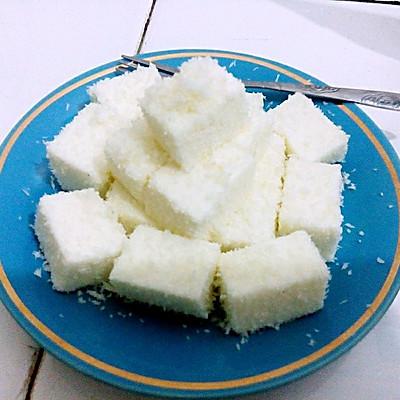 椰奶糕(椰蓉奶油小方)