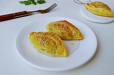 蛋黄芝麻豆沙酥