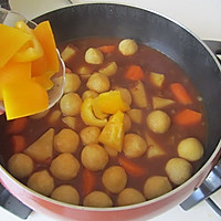 咖喱鱼丸的做法图解8