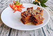 #新春美味菜肴#冷吃千张的做法