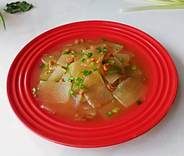 葱油海米冬瓜汤的做法