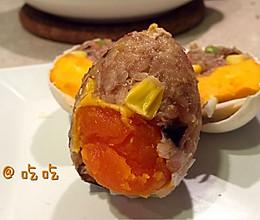 糯米咸鸭蛋——吃吃的做法