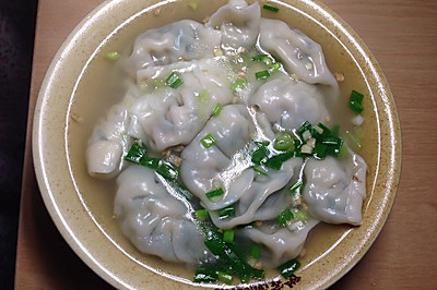 家乐上菜,爱上家常味之浓汤韭菜猪肉水饺