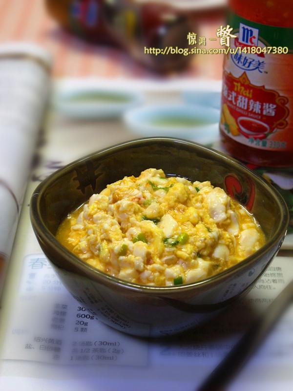 禽流感来袭,安心吃素以减肥——甜辣鸡刨豆腐的做法