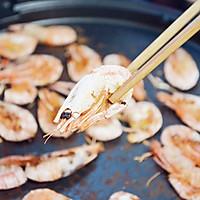 利仁电饼铛试用之烤北极虾