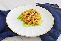 #橄榄中国味 感恩添美味#干煸杏鲍菇的做法