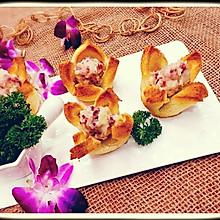 蔓越莓奶香土豆泥吐司塔