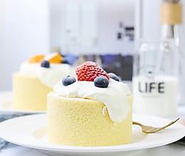 海盐奶盖蛋糕卷#爱好组-低筋#的做法