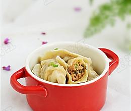 面条菜大肉饺子的做法