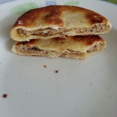 香菇鸡肉馅饼