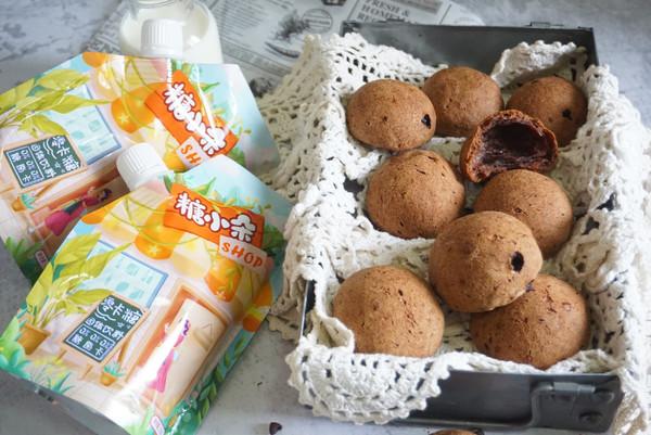 Q弹麻薯面包,买不到自己做,简单实惠,外脆内软个个空心还健康的做法