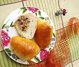 #舌尖上的端午# 粽子面包的做法