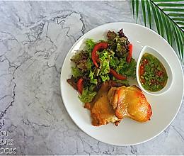 #全电厨王料理挑战赛热力开战#香茅草烤鸡腿的做法