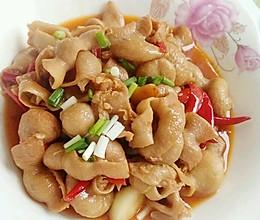 李孃孃爱厨房之——干辣椒烧肥肠(川味)的做法