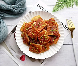 #憋在家里吃什么#酥脆酱香饼的做法