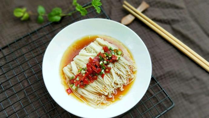 热拌金针菇#安佳幸福家常菜#