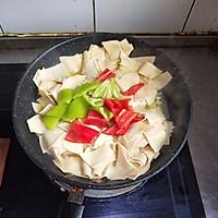 东北菜《尖椒干豆腐》的做法图解6