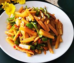 辣椒炒西瓜皮的做法