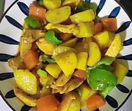 咖喱土豆鸡肉的做法