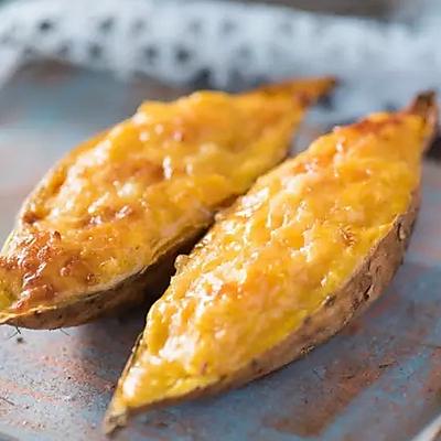 芝士焗番薯   每日菜谱