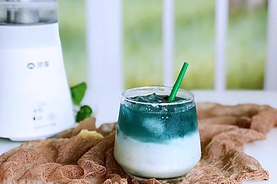 梦幻天空冰奶茶