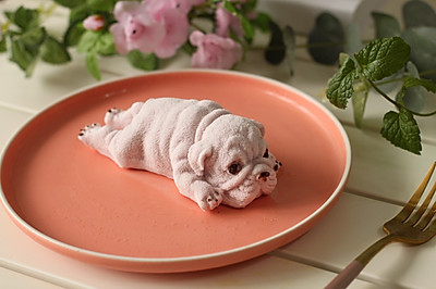 小狗慕斯蛋糕