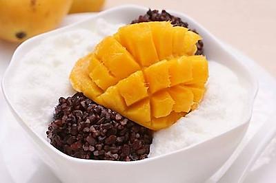 芒果白雪黑糯米甜甜