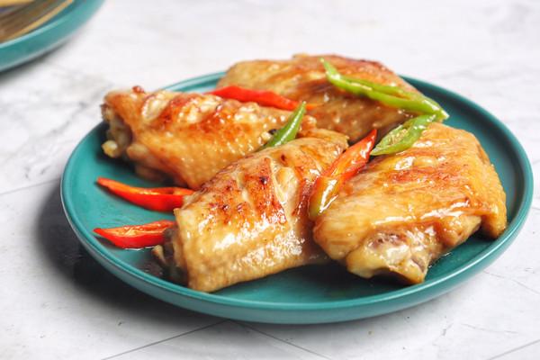香煎鸡翅#秋天怎么吃#的做法