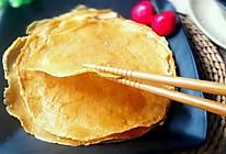 红糖鸡蛋薄饼(无油无水)的做法