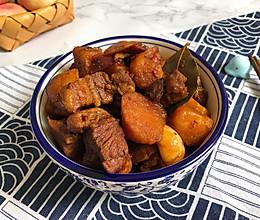 #一人一道拿手菜#土豆红烧肉的做法