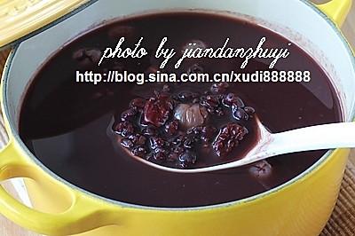 黑米薏仁桂圆汤