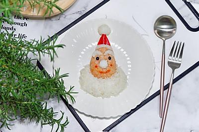 圣誕老人飯團