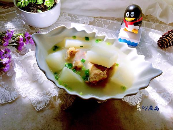 牛骨萝卜汤的做法