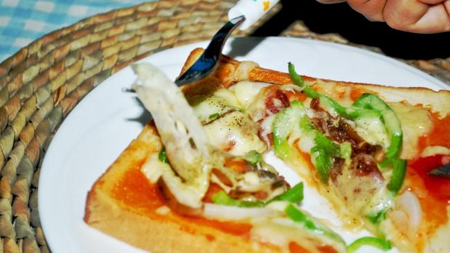 懒人也能吃披萨!——懒人吐司披萨的做法