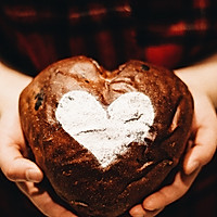 罗曼蒂克的浪漫:红酒巧克力面包