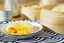 奶黄流心包【孔老师教做菜】的做法