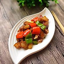 彩椒炒回锅肉#月子餐吃出第二春#