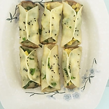 韭菜鸡蛋煎饺