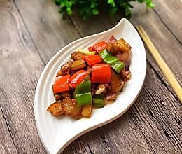 彩椒炒回锅肉#月子餐吃出第二春#的做法