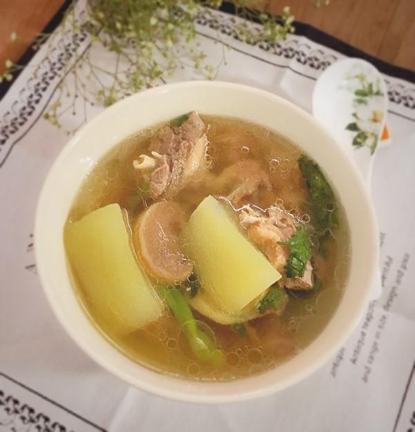 清甜鸭肉菜脯冬瓜汤的做法