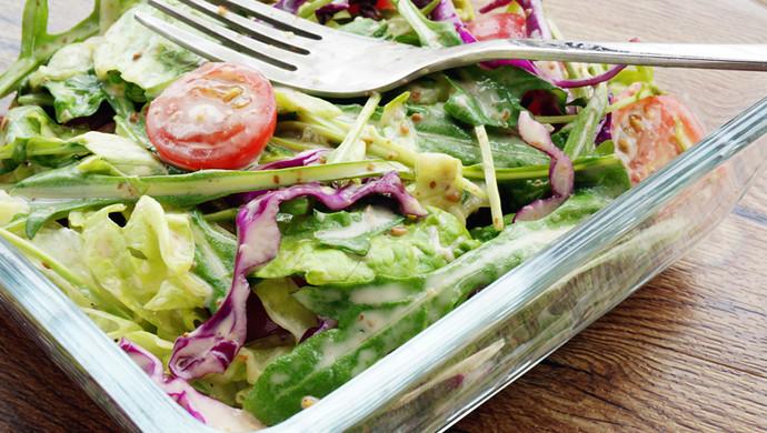 蔬菜沙拉#浪漫樱花季#