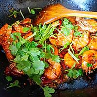 麻辣干锅虾的做法图解8