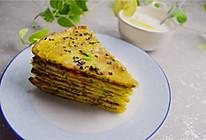 黄瓜菜椒鸡蛋饼,快手做早餐的做法