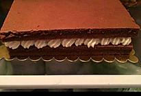 奶油巧克力蛋糕的做法